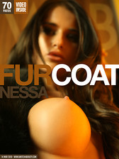 seksowne zdj�cia Watch4beauty: Nessa in Fur coat